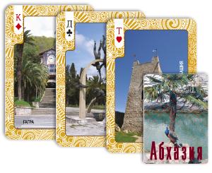 Карты игральные «Абхазия»
